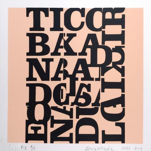 Almandrade - Alfabeto